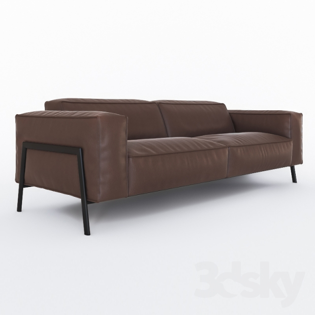 3d models sofa rolf benz bacio. Black Bedroom Furniture Sets. Home Design Ideas