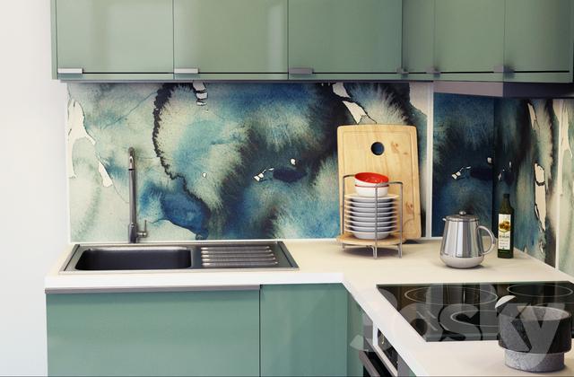 3d Models Kitchen Ikea Kitchen Kallarp