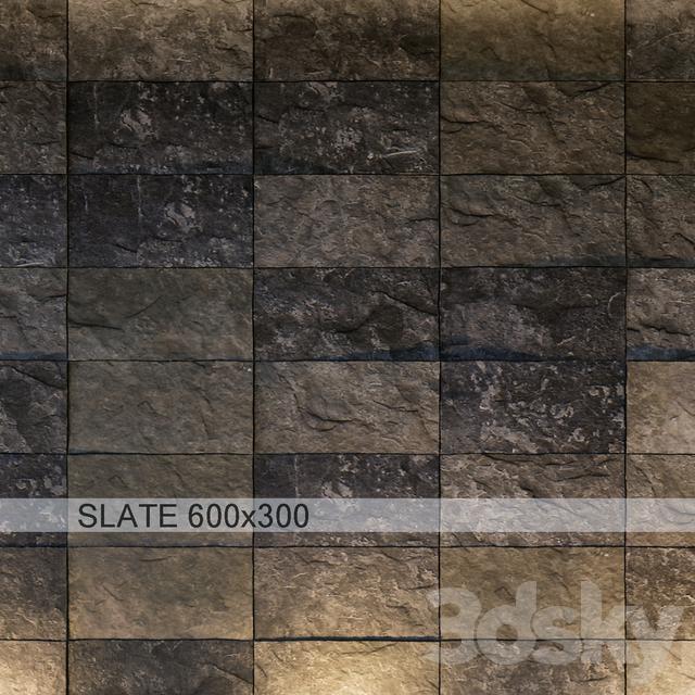 Slate gray antique