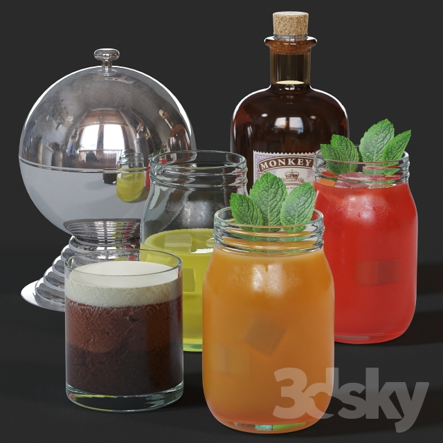 Cocktails small set