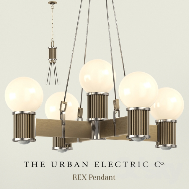 Chandelier And Lights The Urban Electric Rex