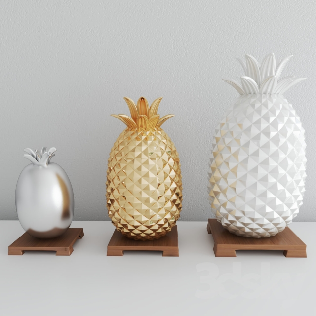 Pineapples Vases