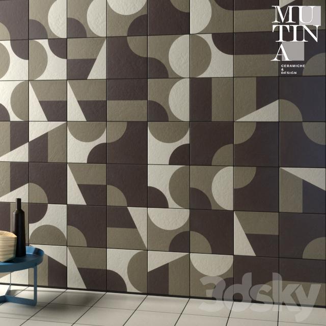 Tile Puzzle by Mutina - set 012B