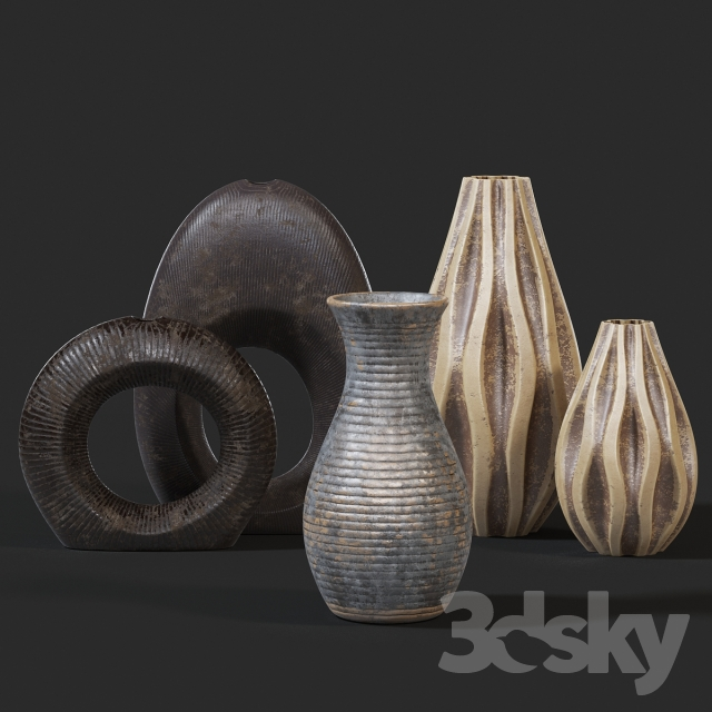 Vases Set, Set of vases