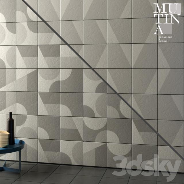 Tile Puzzle by Mutina - set 04