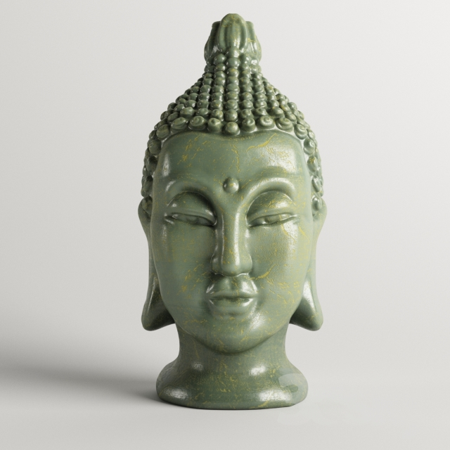 """Statuette """"Head"""""""