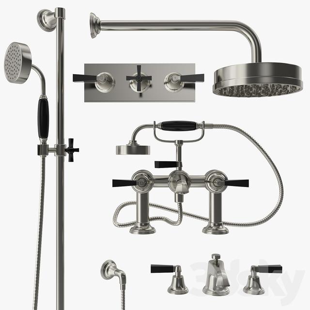 Samuel Heath - Style modern mixer, filler and shower