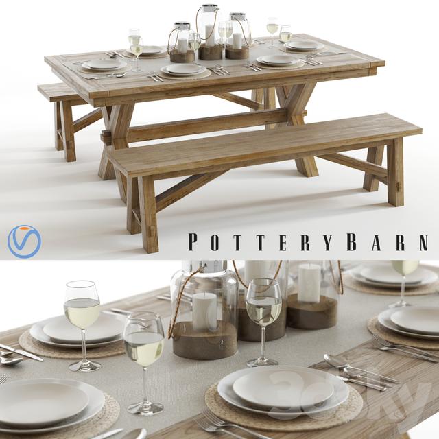 Pottery Barn Toscana Set