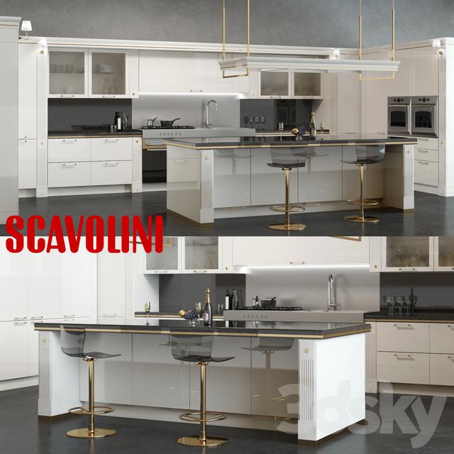 Scavolini Baccarat Kitchen White