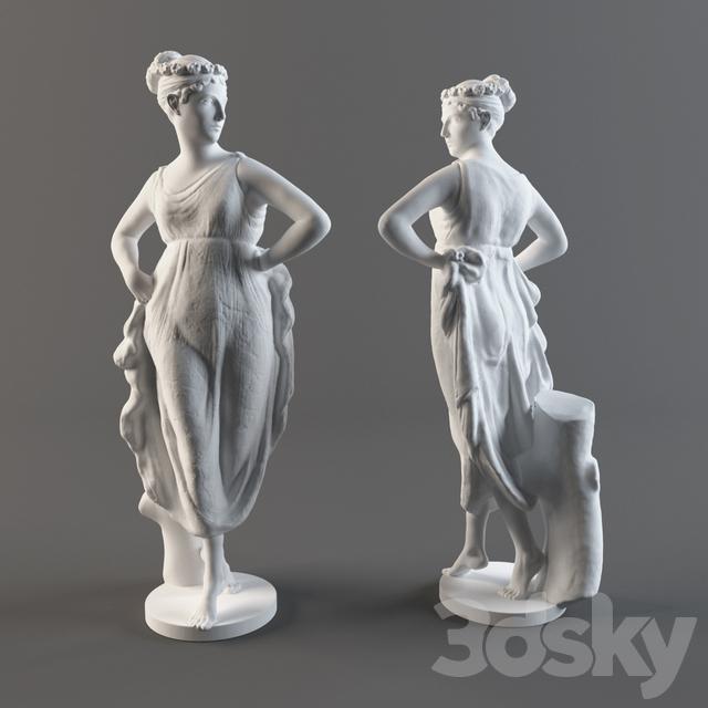 "The statue ""Dancer"""