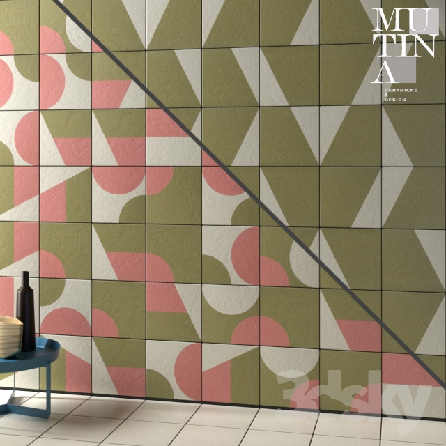 Tile Puzzle by Mutina - set 05