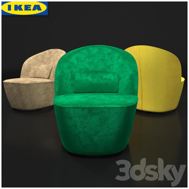 Swivel armchair STOCKHOLM
