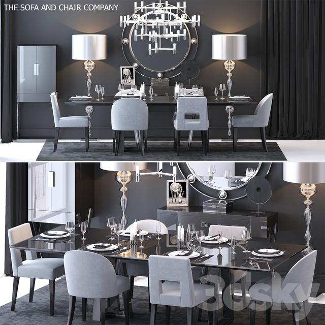 The Sofa & Chair Company Set 3