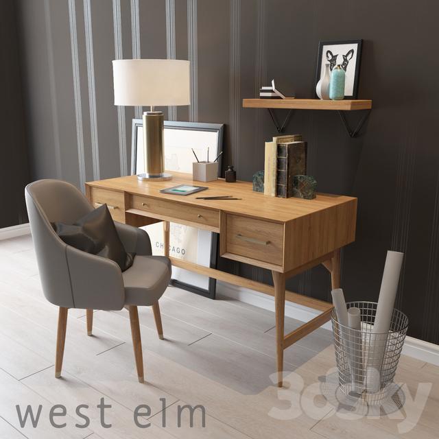 West Elm Mid-Century Desk