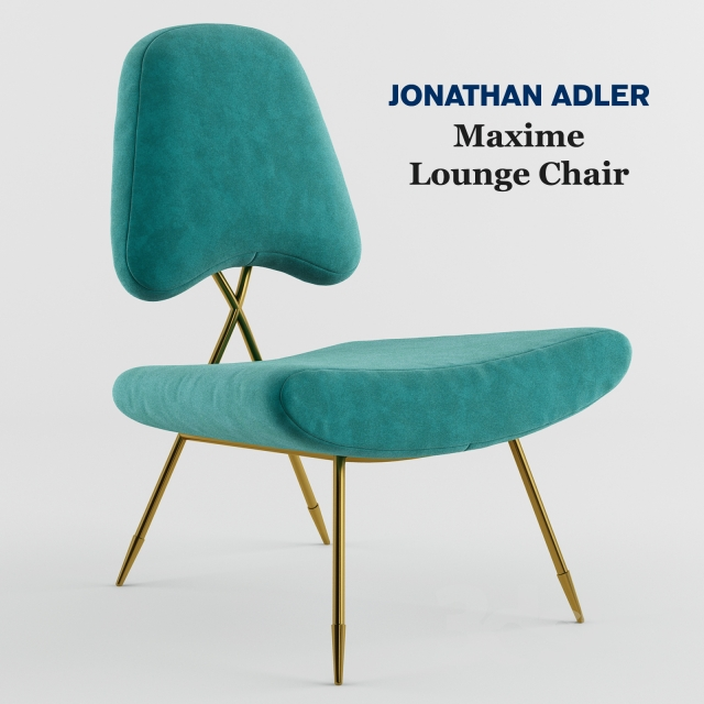 Maxime Lounge Chair by Jonathan Adler