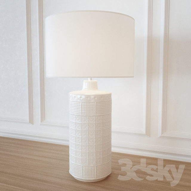 Good Table Lamp POTTERYBARN Jamie Young Emma Ceramic Column Table Lamp Awesome Ideas