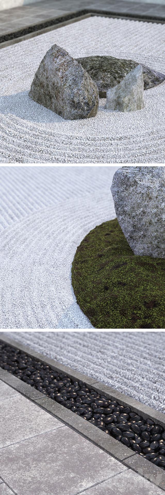 3d Models Other Architectural Elements Japanese Zen