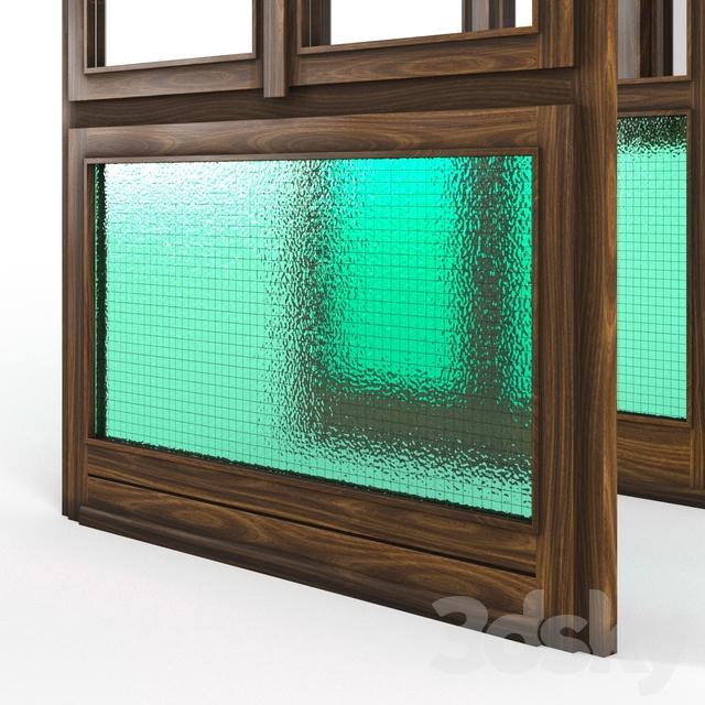 3d models windows classic wood window for Window 3d model