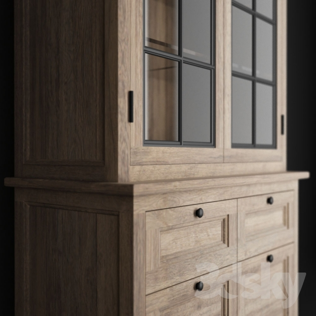 3d models wardrobe display cabinets maison du monde cavaillon. Black Bedroom Furniture Sets. Home Design Ideas