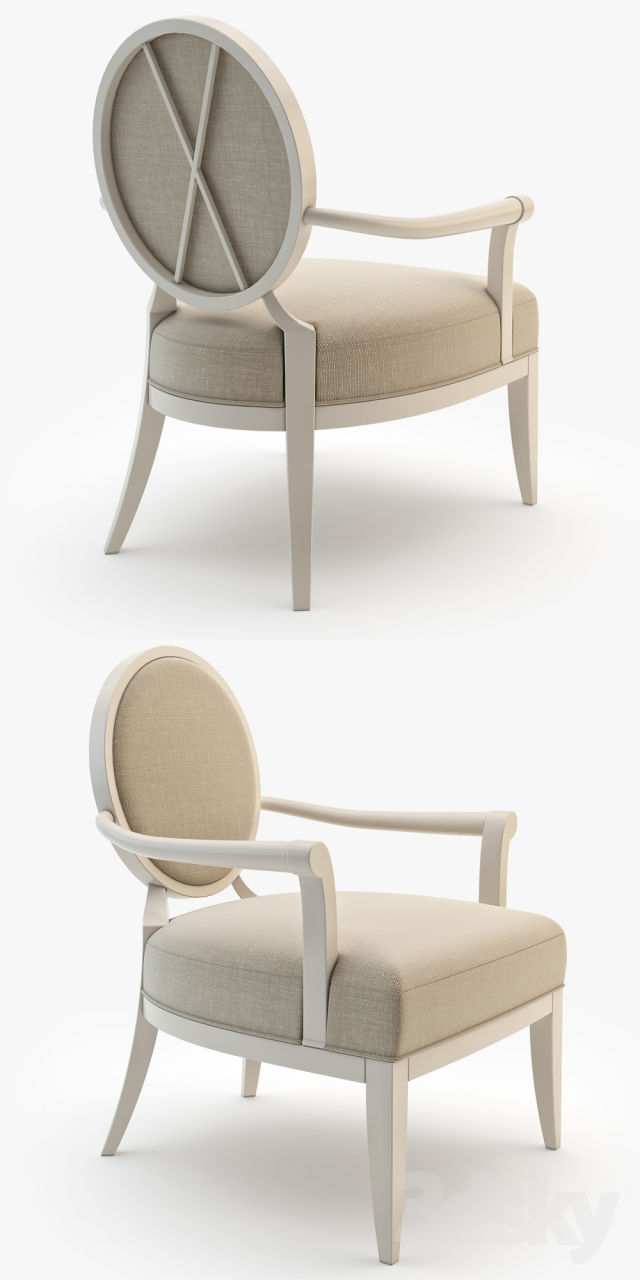3d Models Arm Chair Barbara Barry № 471