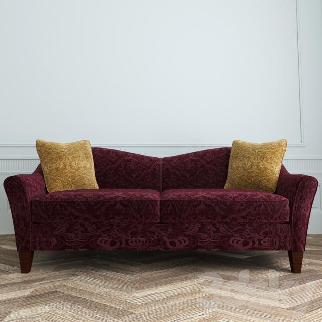 3d models: Sofa - La Z Boy Demi