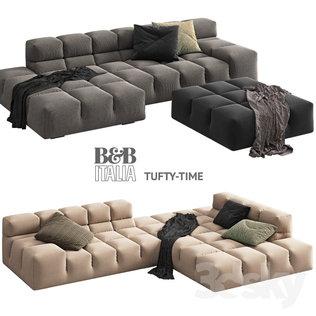 Bu0026B Italia TUFTY TIME 2 Sofa