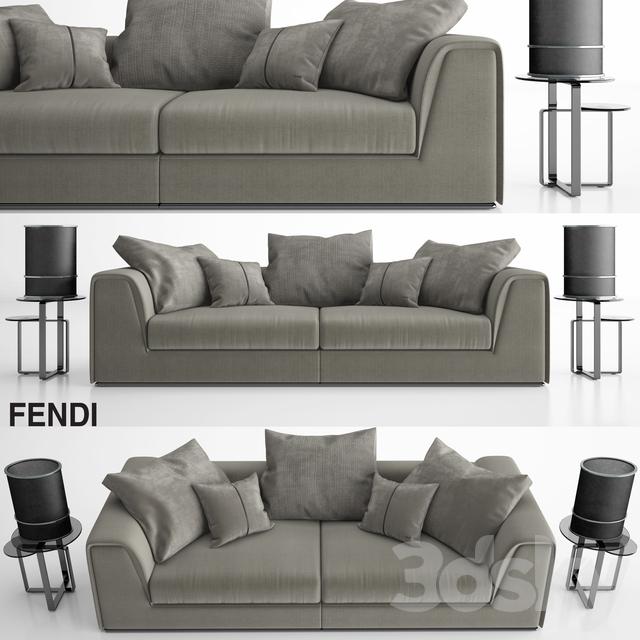 Astounding 3D Models Sofa Fendi Prestige Sofa Set Alphanode Cool Chair Designs And Ideas Alphanodeonline