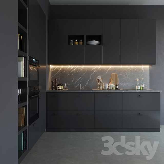 3d Models Kitchen Ikea Kungsbacka
