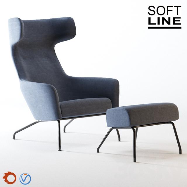 3d Models Arm Chair Armchair Havana From Soft Line