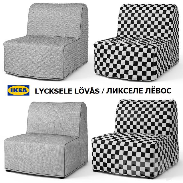3d Models Arm Chair Armchair Bed Ikea Lycksele Lovas Lycksele Lёvos