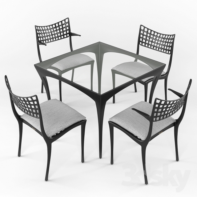 Sol Y Luna Dining Table And Chairs