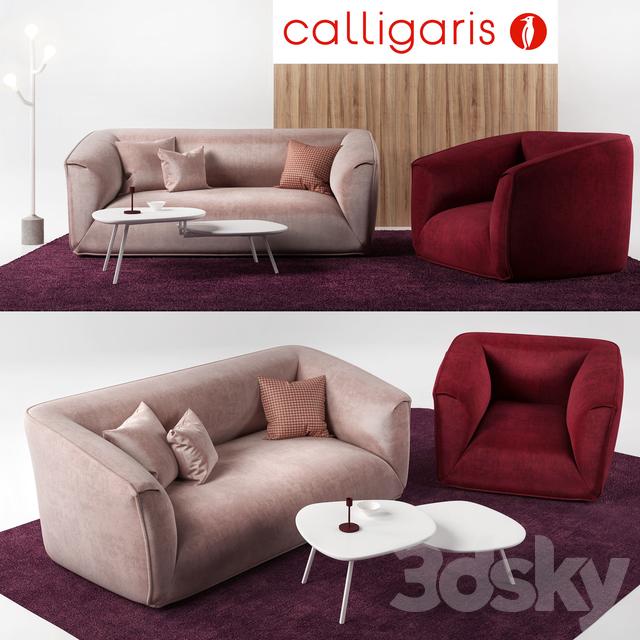 Calligaris Furniture Set Calligaris Sweet