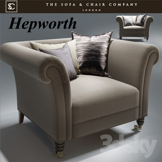 3d Models Arm Chair Hepworth Armchair The Sofa And