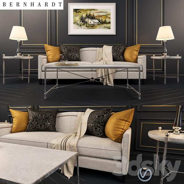 Kinsella Coffee Table: Strickland Sofa