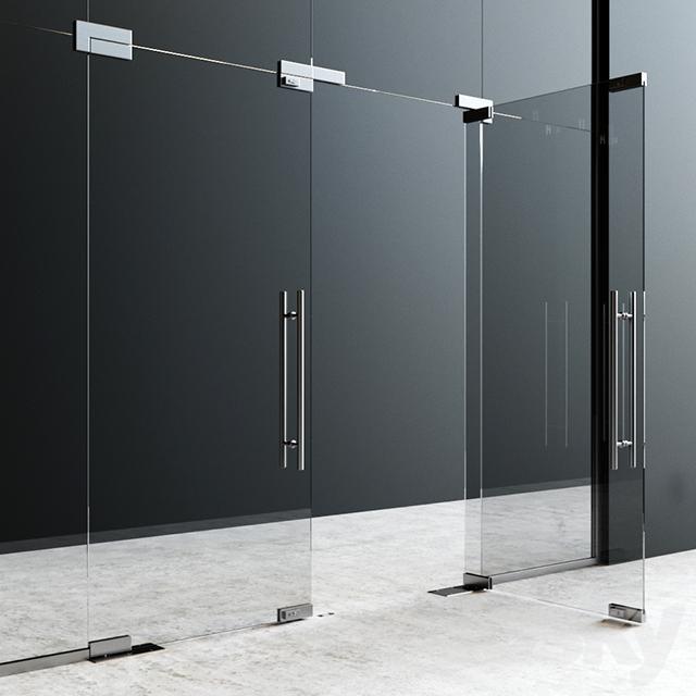 3d Models Doors Fittings Dorma Glass
