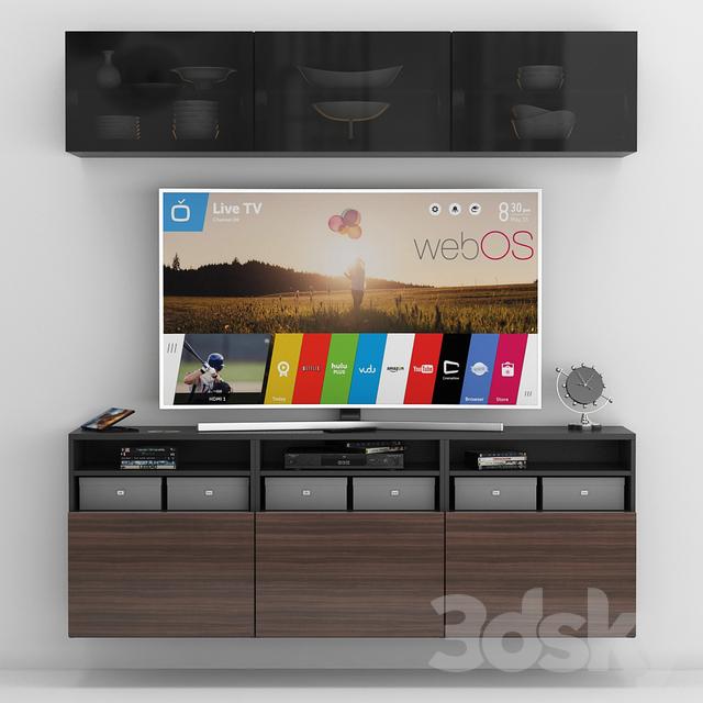 159 Ikea Besta Boas Tv Stand: Ikea Besta Tv Stand With