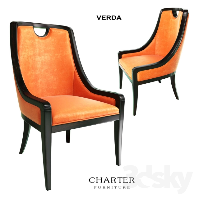 3d Models Chair Charter Furniture Verda