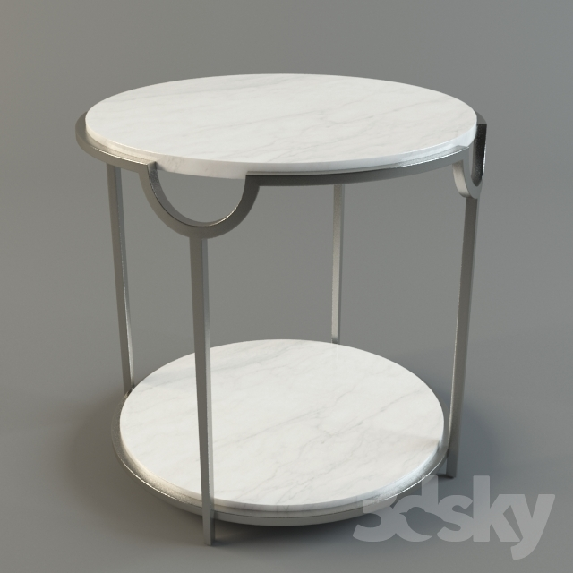 Side Table Bernhardt Morello Oval