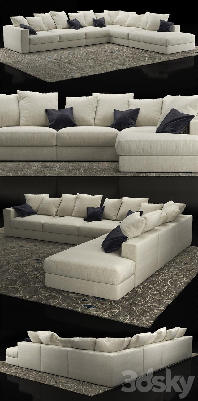 3d models sofa boconcept cenova if52. Black Bedroom Furniture Sets. Home Design Ideas