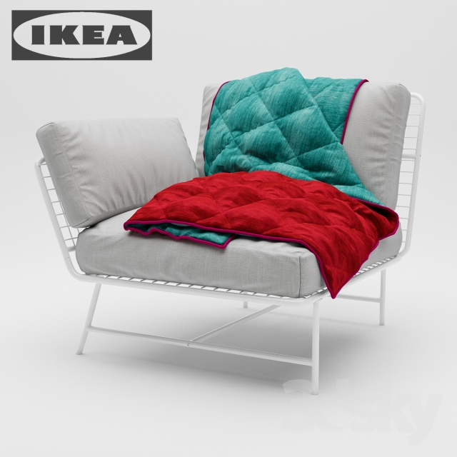 3d models arm chair ikea ps 2017 corner chair. Black Bedroom Furniture Sets. Home Design Ideas