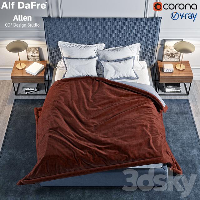 3d Models Bed Alf Dafre Allen