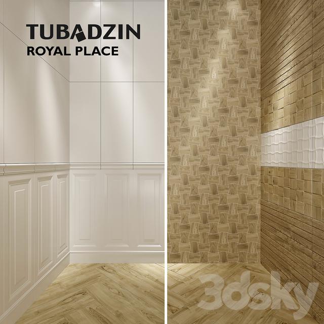 3d Models Bathroom Accessories Tile Tubadzin Royal Place