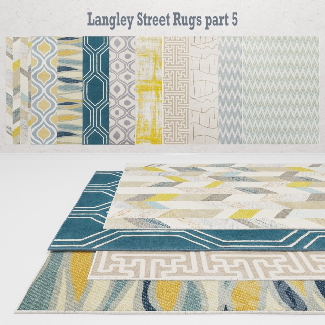 3d Models Carpets Langley Street Rugs Part 5