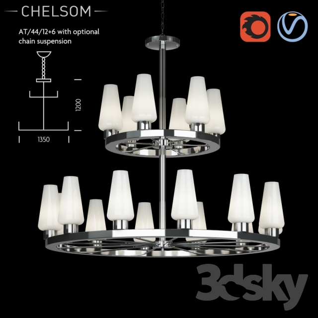 Chelsom Atrium AT 44 12 6