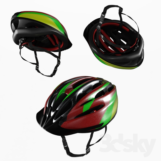 3d models: Sports - Cycling Helmet