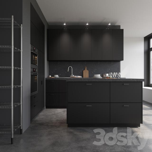 3d models kitchen ikea kungsbacka. Black Bedroom Furniture Sets. Home Design Ideas