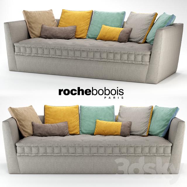 3d models sofa carpe diem sofa by roche bobois - Sofa rock en bobois ...