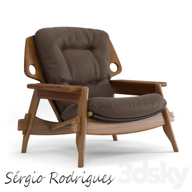 Poltrona Benjamin Sergio Rodrigues