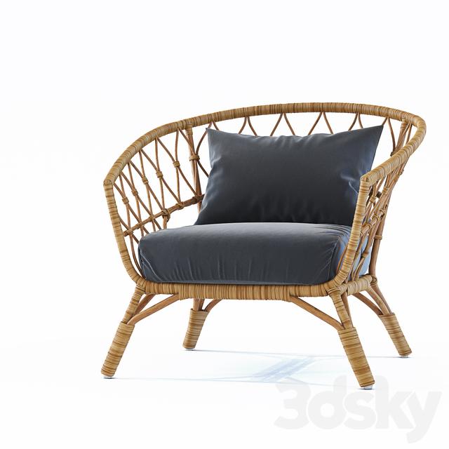 3d models: Arm chair - Armchair STOCKHOLM / Ikea Stockholm ...