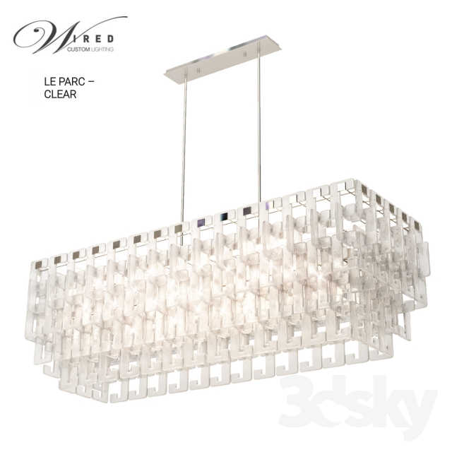 Le-parc-clear by Wired Custom lighting